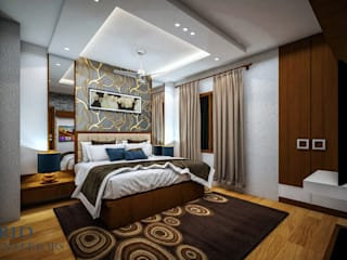 3 BHK INTERIOR IN DELHI by RID GROUP