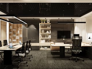 WALL INTERIOR DESIGN Office buildings
