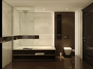 Modern bathroom by WALL INTERIOR DESIGN Modern