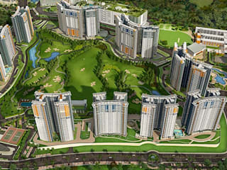 Blue Ridge Township at Hinjewadi, Pune by Aniruddha Vaidya & Associates (AVA) Classic