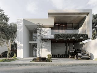 En Rebora construimos la casa de tus sueños. Casas modernas de Rebora Arquitectos Moderno