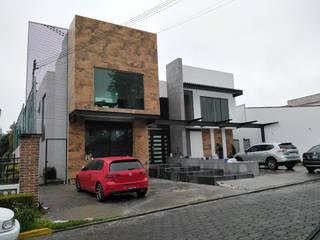 Proyecto fachada Valle Escondido Casas minimalistas de SiDsA Minimalista