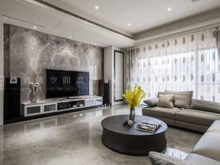 Salas de estilo clásico de SING萬寶隆空間設計 Clásico
