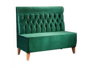 Palmiye Koçak Sandalye Masa Koltuk Mobilya Dekorasyon JadalniaKrzesła i ławy Drewno Zielony