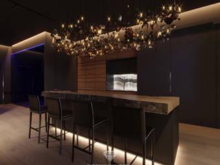 Квартира холостяка Кухня в стиле модерн от Студия дизайна интерьера Руслана и Марии Грин Модерн