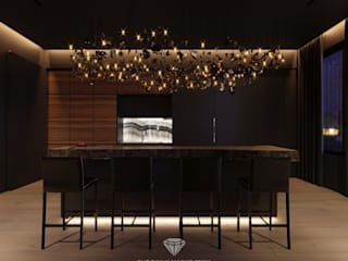 Modern Kitchen by Студия дизайна интерьера Руслана и Марии Грин Modern
