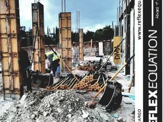Reflexequation - Construção e engenharia Casas modernas por REFLEXEQUATION LDA Moderno