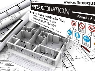 Reflexequation - Construção e engenharia por REFLEXEQUATION LDA Moderno