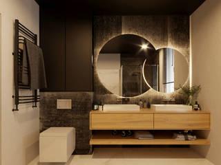 Baños de estilo moderno de Ale design Grzegorz Grzywacz Moderno