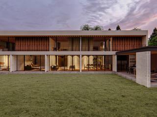 Conjunto Rancho Avandaro de C_arquitectos Moderno
