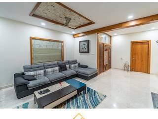 Best Interior Designers in Hyderabad | Custom Interior Design Services Asian style living room by Cutting Edge Design Studio Hyderabad Asian