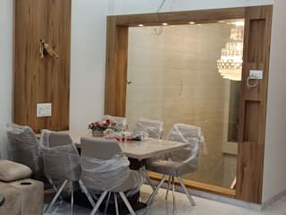 Goregaon Project Modern dining room by Interior Paradise Modern
