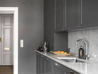 Mutfak dolabı Bay mobilya Küçük Mutfak Ahşap Siyah