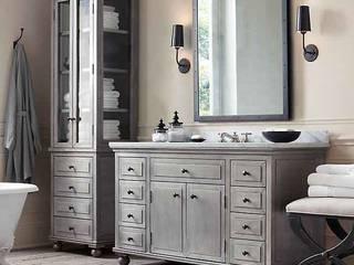 Mutfak dolabı Bay mobilya Klasik Banyo Ahşap Gri