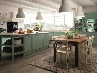 Mutfak dolabı Bay mobilya Küçük Mutfak Ahşap Turkuaz