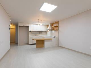 서강 GS 아파트 26py 모던스타일 거실 by 곤디자인 (GON Design) 모던