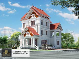 Báo giá xây dựng nhà phố, biệt thự trọn gói theo m2.: Châu Á  by TNHH xây dựng và thiết kế nội thất AN PHÚ CONs 0911.120.739, Châu Á