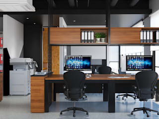 EEA Office Design, Shah Alam Norm designhaus Industrial style study/office