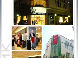 Mağaza/ Store FMK İNŞAAT MİMARLIK Akdeniz