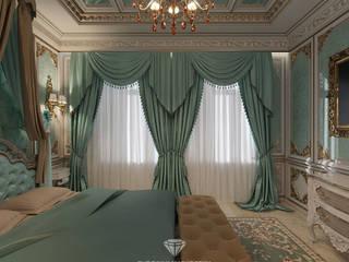 Дворцовая роскошь спальни в частном доме Спальня в классическом стиле от Студия дизайна интерьера Руслана и Марии Грин Классический