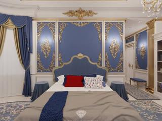 Dormitorios de estilo clásico de Студия дизайна интерьера Руслана и Марии Грин Clásico