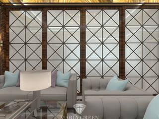 "A luxurious, Art Deco-style house in the CV ""Azarovo"" Гостиная в классическом стиле от Interior Designer Maria Green Классический"