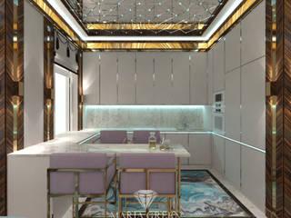 "A luxurious, Art Deco-style house in the CV ""Azarovo"" Кухня в классическом стиле от Interior Designer Maria Green Классический"