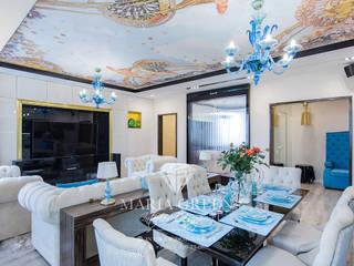 Art deco and modern in a design of the apartment Гостиная в классическом стиле от Interior Designer Maria Green Классический
