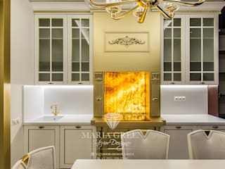 Art Deco and classic style in the interior of the apartment от Interior Designer Maria Green Эклектичный