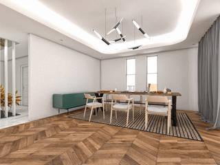 Villa Alesandra Modern Yemek Odası CRK İÇ MİMARLIK Modern
