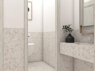 Lounge Design Minimalist Banyo CRK İÇ MİMARLIK Minimalist