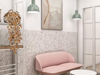 Lounge Design Minimalist Oturma Odası CRK İÇ MİMARLIK Minimalist