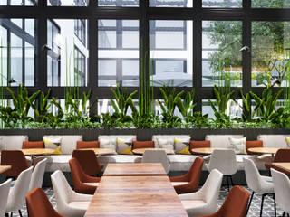 ArchSia – Tubitak Cafe Projesi: modern tarz , Modern