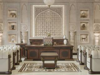Valente Klasik Makam Takımı SUİTE OFİS MOBİLYALARI Ofis Alanları & Mağazalar Ahşap rengi