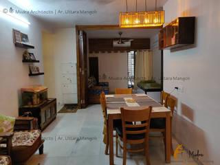Minimalist dining room by कै Mudra Architects Minimalist
