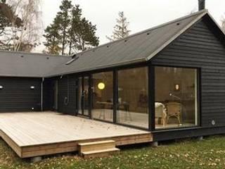 Casa de Arquitectura tipo Galpón de Edelhaus Minimalista