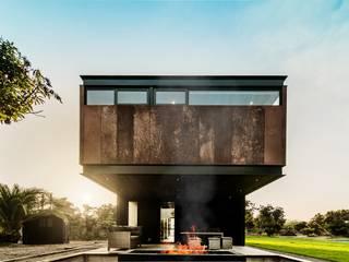 Casa Breit-Fronzig Casas de estilo industrial de JPV Arquitecto Industrial