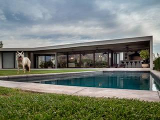 Casa Valck Casas de estilo mediterráneo de JPV Arquitecto Mediterráneo