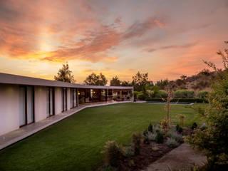 Casa Valck Jardines de estilo mediterráneo de JPV Arquitecto Mediterráneo