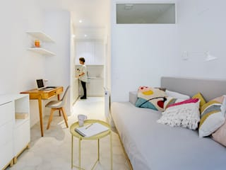 Modern living room by nimú equipo de diseño Modern