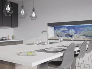 Leonor - Projeto 3D Cozinha por Cozinhas Online