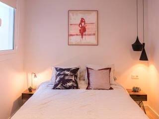 Reforma en los Encantes Dormitorios de estilo industrial de Innovo Industrial
