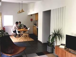 HUMA arquitetura Modern living room
