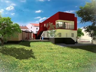 Moradia em S. Martinho por HUMA arquitetura Moderno