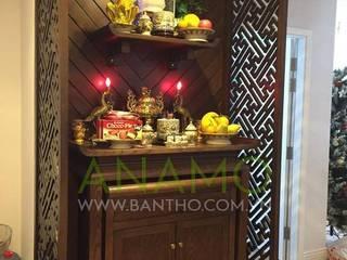 Tủ thờ đẹp, tủ thờ chung cư, tủ thờ hiện đại - Bàn thờ Anamo: Châu Á  by Bàn Thờ Anamo, Châu Á
