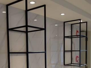 室內鐵件 宇堂室內裝修有限公司 客廳書櫃 金屬 Black