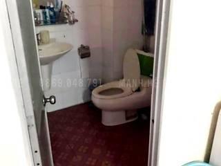 CẢI TẠO NỘI THẤT CHUNG CƯ K300 55M2 - 2 PHÒNG NGỦ (CHỊ HUYỀN - TÂN BÌNH) Phòng tắm phong cách hiện đại bởi Công ty TNHH Nội Thất Mạnh Hệ Hiện đại