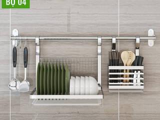 Giá treo bếp inox đa năng bởi Flex House