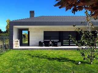 Jardines de estilo moderno de Rafael Hernáez Loza AITEC Proyectos Moderno