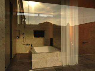 Phòng tắm phong cách tối giản bởi Shigeo Nakamura Design Office Tối giản